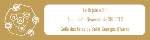 Invitation à l'AG du 15 Juin à Saint-Georges-d'Aurac